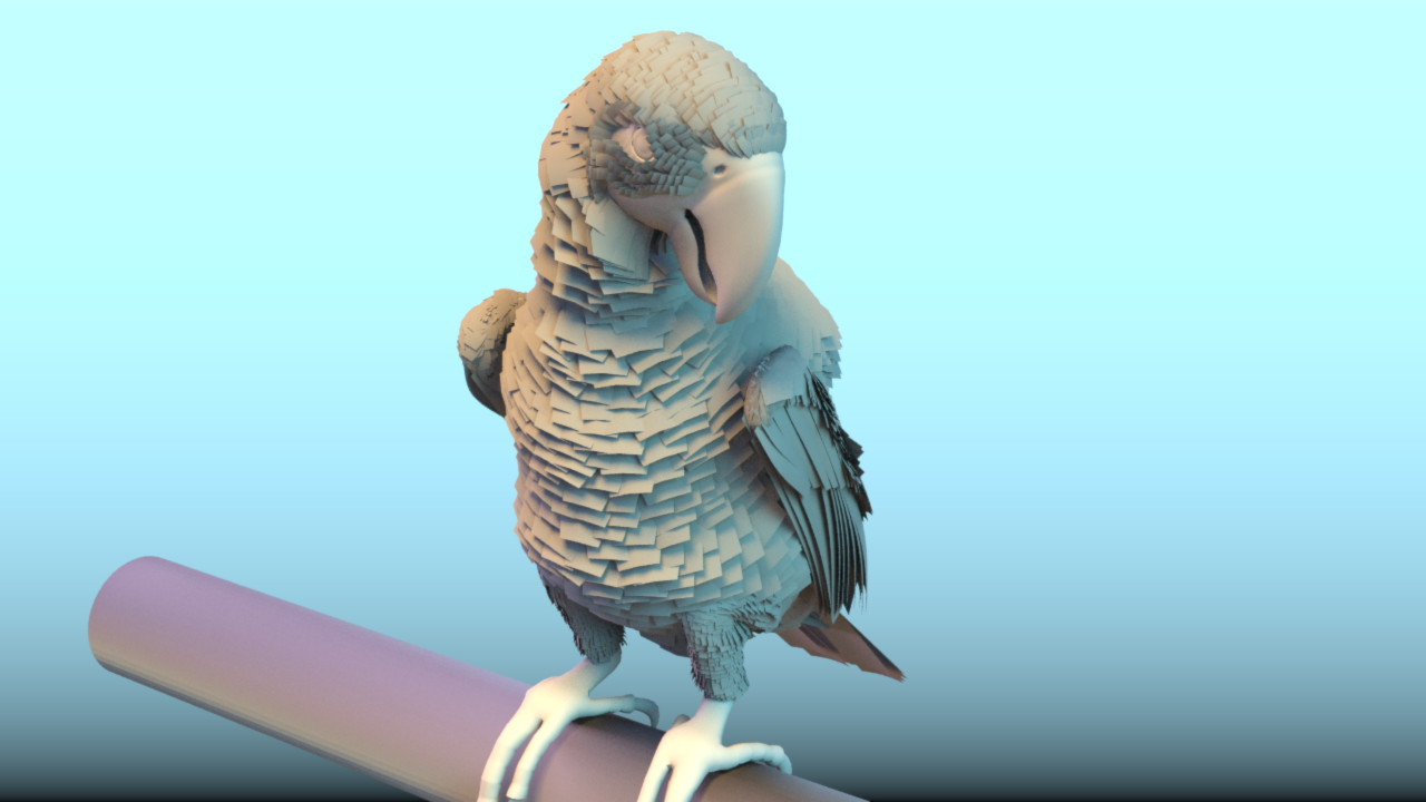 mbPlumage - Feather Asset for Houdini